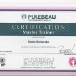 Master Trainer certification for Beata Baranska
