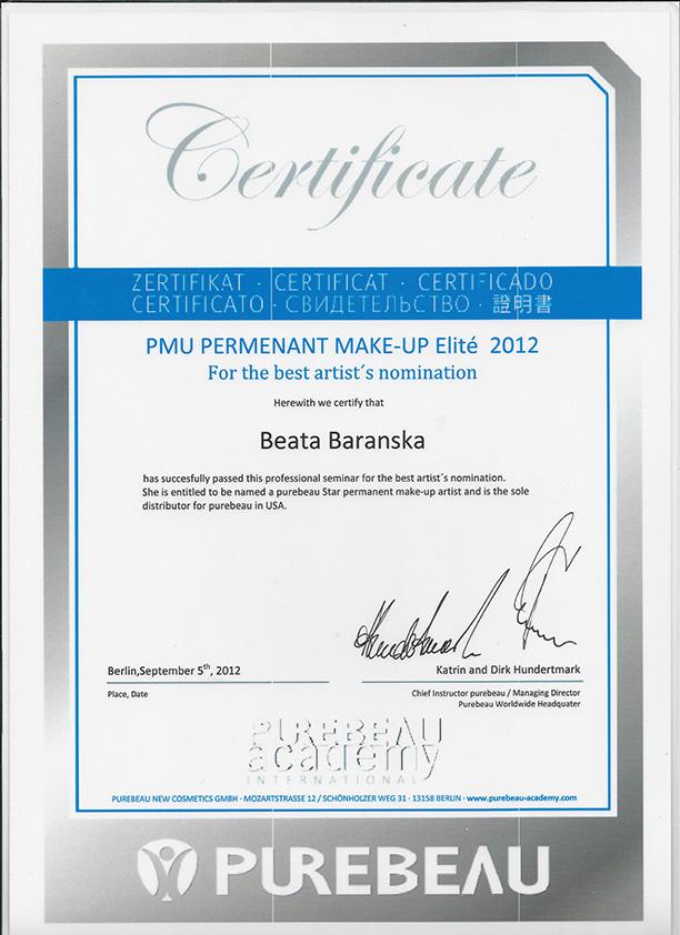 Meet Certified Permanent Cosmetics Specialist Beata Baranska