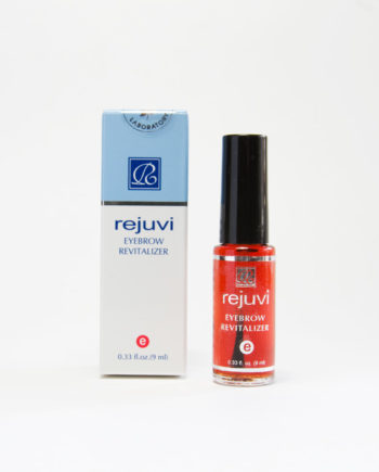 Rejuvi eyebrow revitalizer in 0.33 fl oz. bottle.