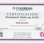 Permanent Makeup Artist certification