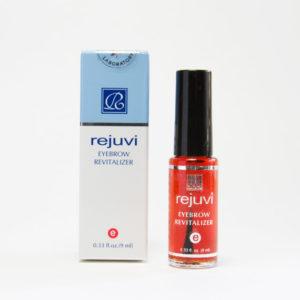 Rejuvi eyebrow revitalizer in 0.33 fl oz. bottle.
